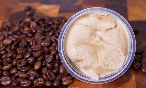 Naughty Little Kids coffee flavoured gelato